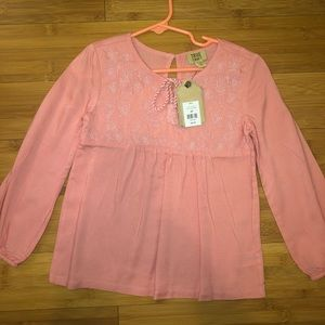 Size 4 coral blouse